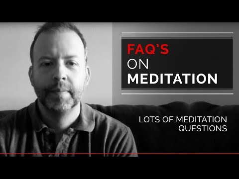 Kyle Cease - FAQ's on meditation