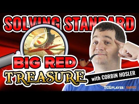[MTG] Solving Standard - Big Red Treasure | Match 1 VS Blue-Black Control