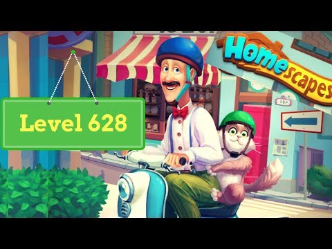 Homescapes Level 628 - How To Complete Level 628 On Homescapes