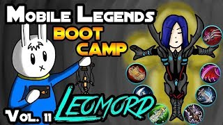 MOBILE LEGENDS BOOT CAMP VOLUME 11 : LEOMORD - TIPS, ITEMS, SPELL, EMBLEMS, TRICKS, AND GUIDE