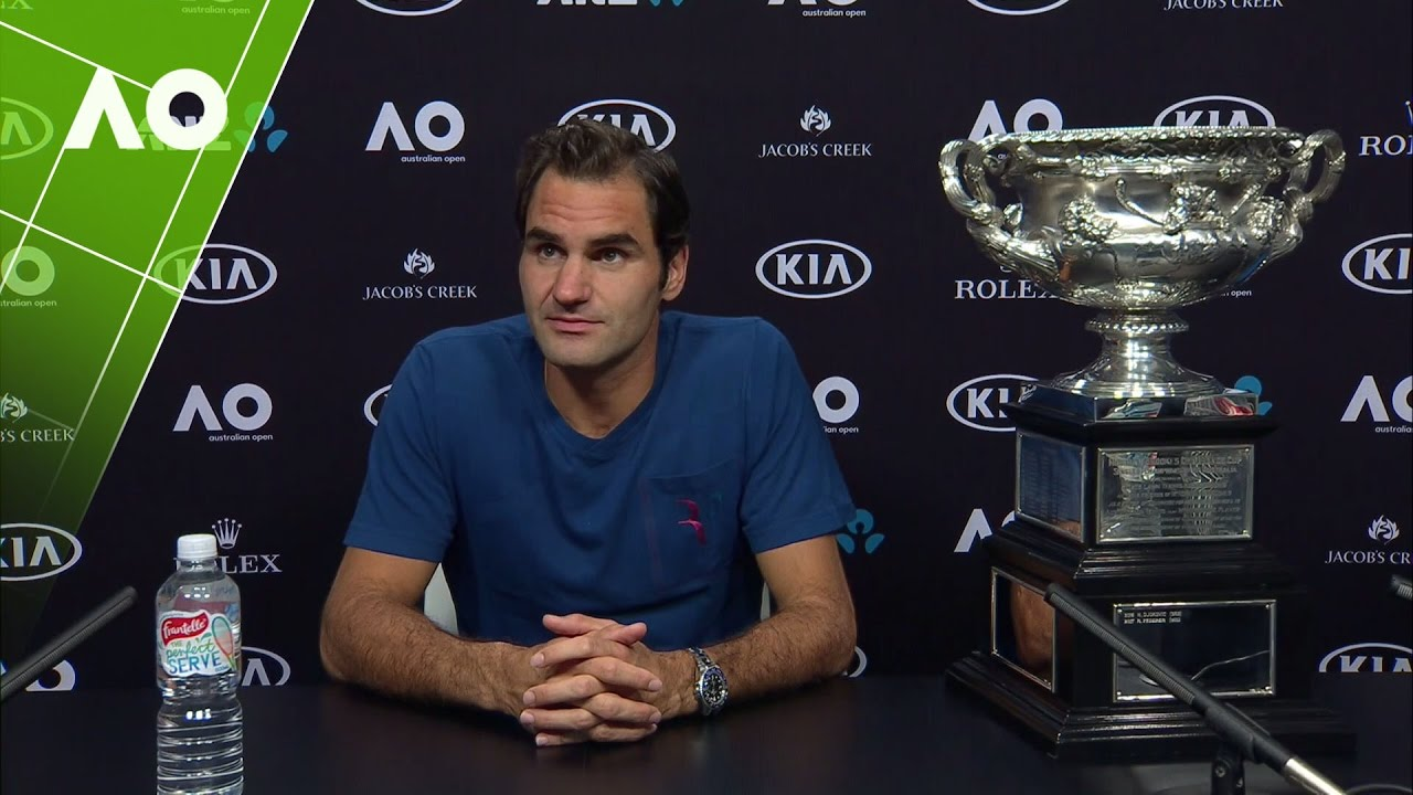 Roger Federer press conference (Final)   Australian Open 2017