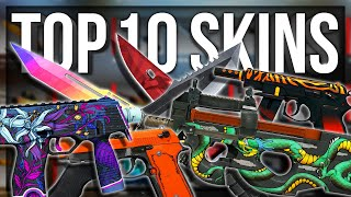 MY TOP 10 FAVORITE SKINS IN CSGO (WITH PAPA)