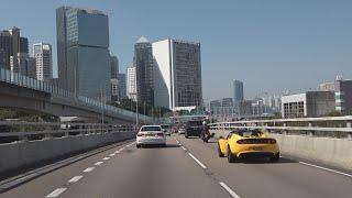 Фото На машине по Гонконгу. 4К