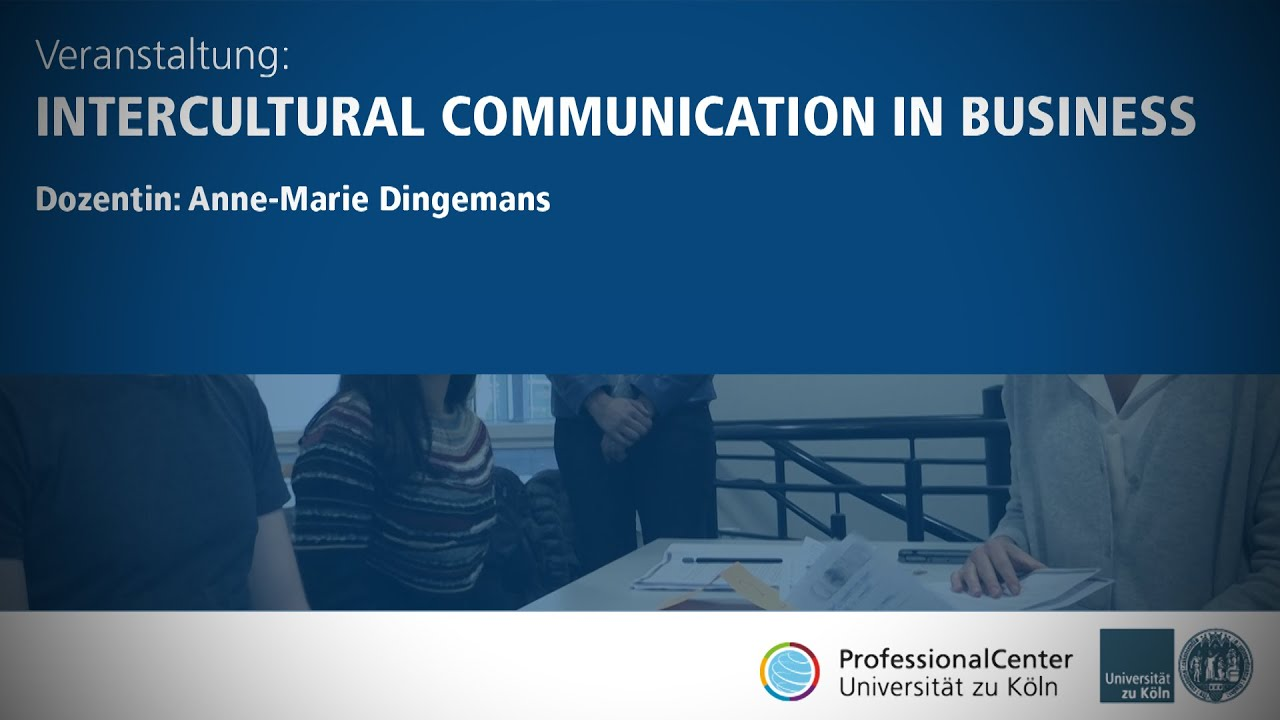 Intercultural Communication in Business // ProfessionalCenter
