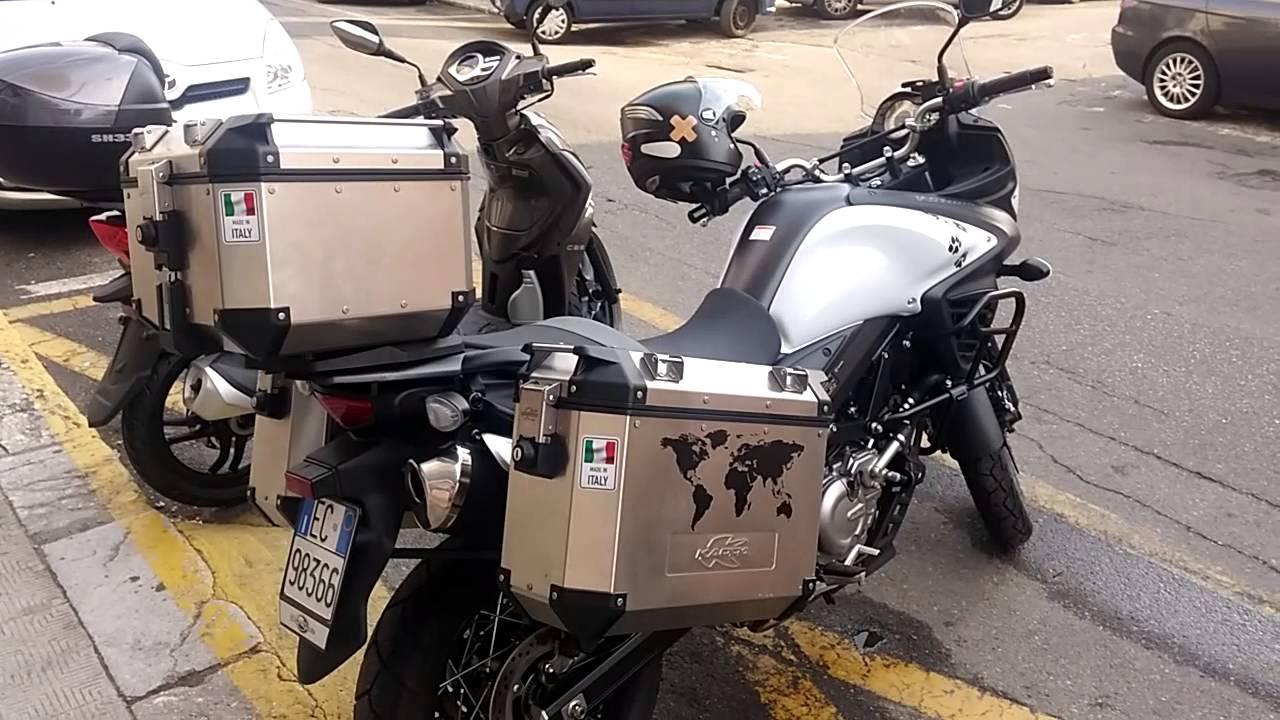 Suzuki V Strom Top Case