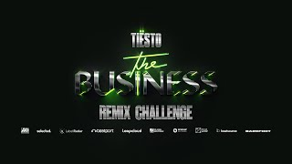 Remix Tiësto's 'The Business Pt I + II' and You Could Win Big | 8000 in Prizes