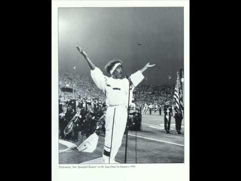 KARAOKE Star Spangled Banner - Whitney Houston version