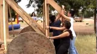 Carl Hayden High School Trebuchet-catapult Pumpkin Toss