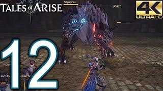Tales of Arise PC 4K Walkthrough - Part 12 - Cysloden Quest, Frozen Valley, Safar Sea Cave