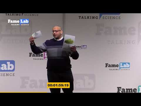 The importance of studying the hierarchy of the blood system- Mina Morcos - FameLab 2018