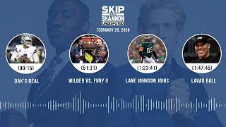 Dak's deal, Wilder vs. Fury II, Lane Johnson joins, LaVar Ball (2.20.20)   UNDISPUTED Audio Podcast