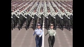 Female Chinese soldiers gear up for National Day military parade| CCTV English