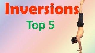 Top 5 Inversion Yoga Poses | Vashistha Yoga
