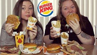 BURGER KING MUKBANG    Spicy Chicken Sandwich, Burger
