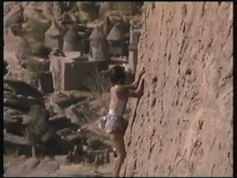 Catherine Destivelle - amazing solo climb in Mali