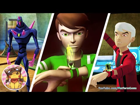 BEN 10 Alien Force Vilgax Attacks - Part 6 - Mor' Otesi - Movie Game Walkthrough (2009) [1080p]