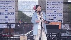 EU Women's March – Berlin, 09.05.2019, Sharon Adler – Berlin - AVIVA