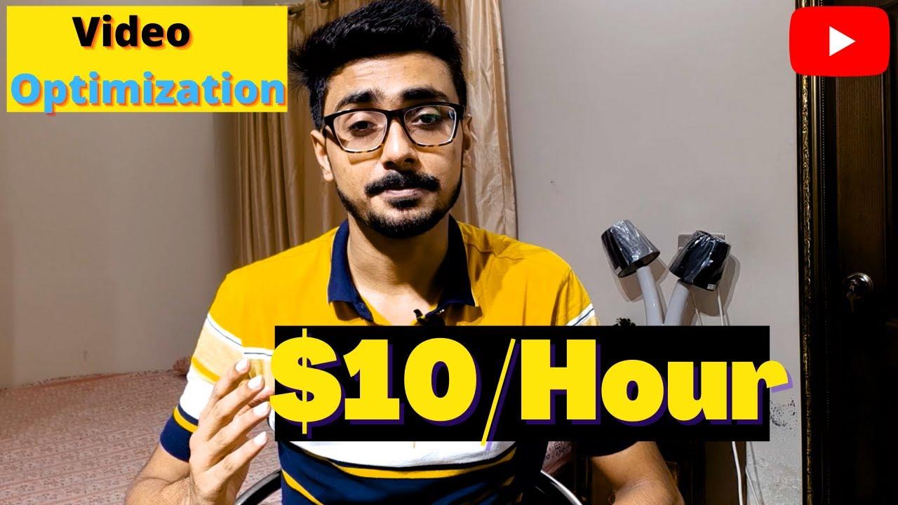 Earn $10/Hour with YouTube Video Optimization Service   Earn Money Online   Make Money Online