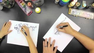 How To Draw Crazy Christmas Elves