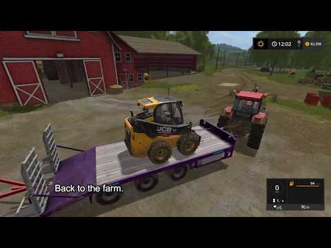 Farming simulator 17 Timelapse #6 | The Valley The Old Farm
