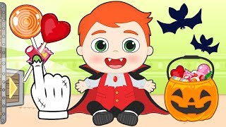 BABY ALEX Dresses up as Dracula for HALLOWEEN 🦇 Cartoons for Children