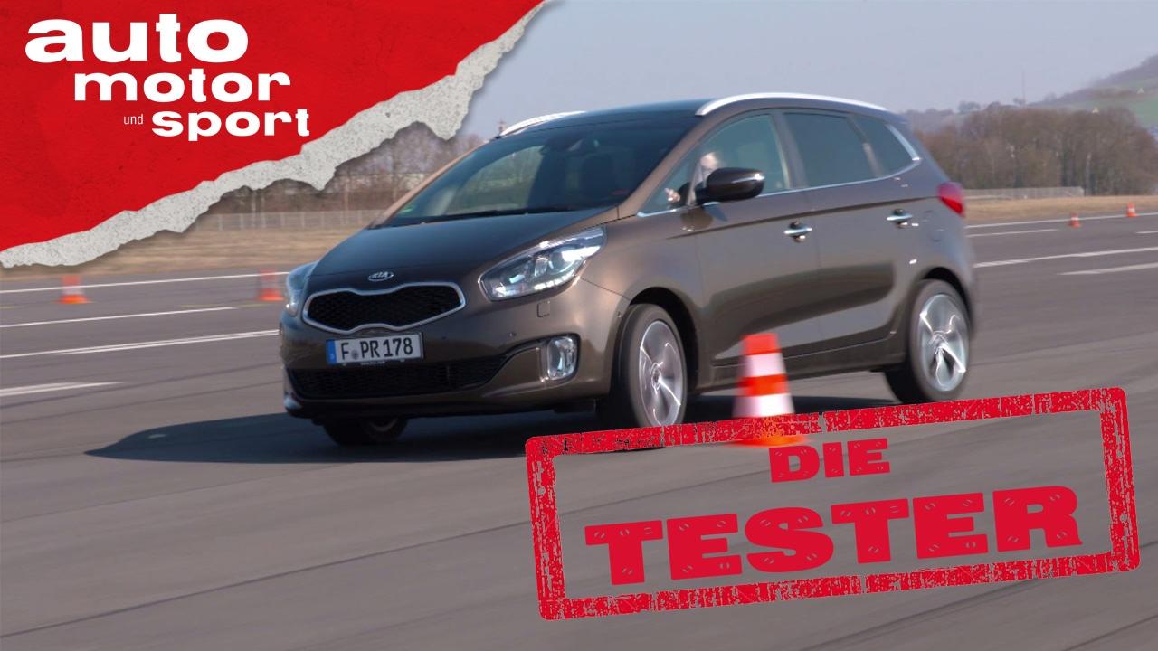 Kia Carens: Van mit Charisma - Die Tester   auto motor und sport ...