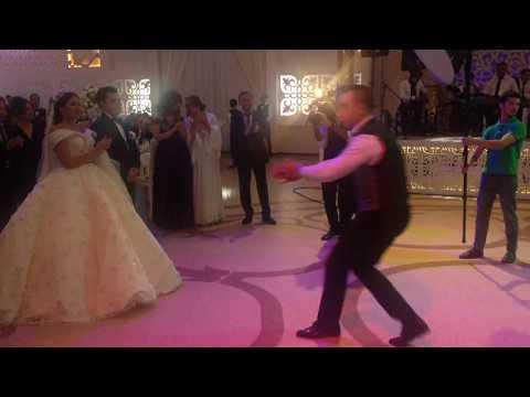 Lezginka in Azerbaijan wedding party
