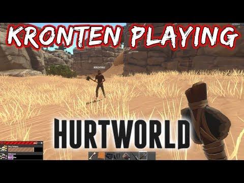 KRONTEN PLAYING HURTWORLD | CHALO AAJ THODA KAM KARTE HAI 😂 best survival  GAME 😘