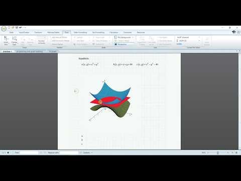 3D Plotting In Mathcad 5.0
