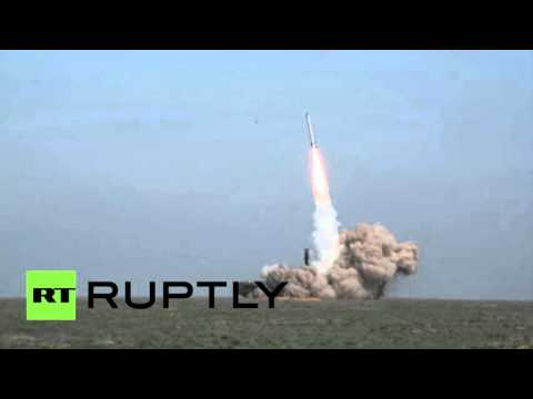 RAW: Video of Russian Iskander-M missile successful test-firing released