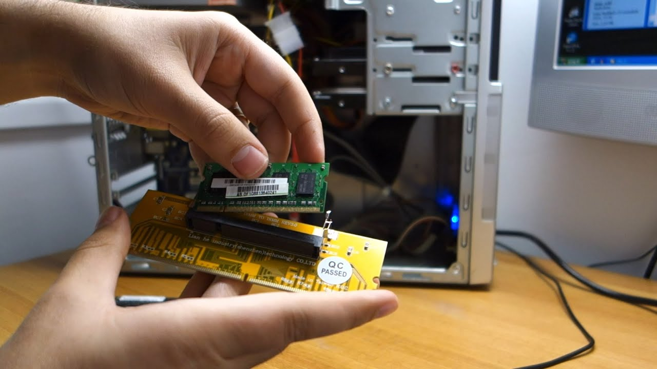 How To Use Or Test Laptop Ram Memory In A Desktop Pc