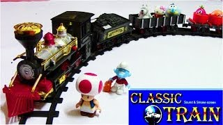 Classic Train Sound and Smoke Screen - Toy Train Collection