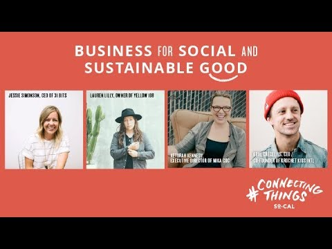 Social Good Panel of Founders