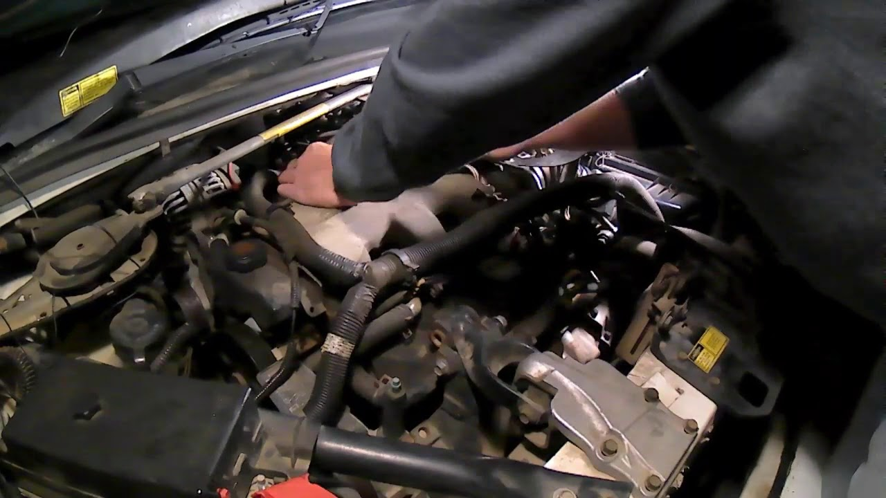 Changing Spark Plugs And Spark Plug Wires Chevrolet Venture Detailed Version Youtube