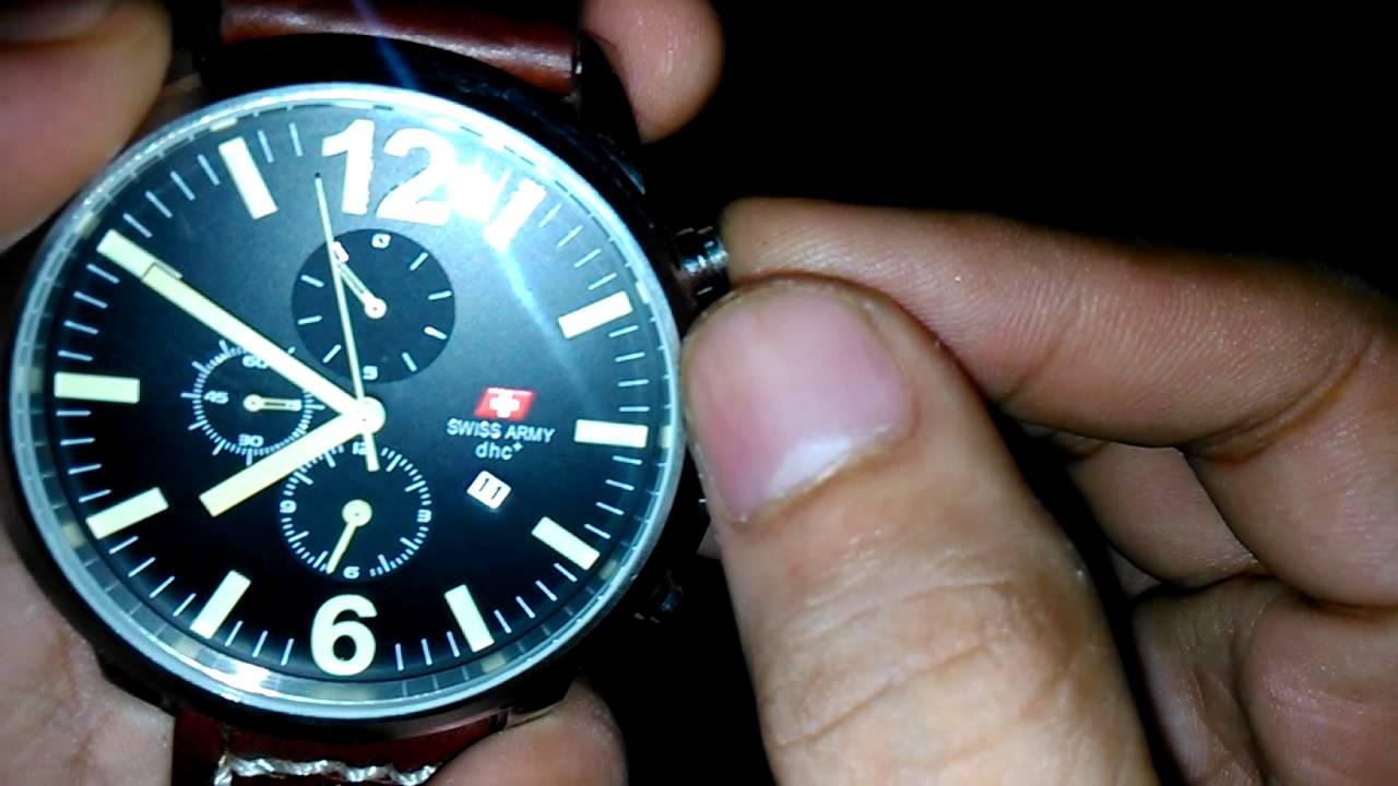 Kalibrasi Reset Chronograph Jam Tangan Youtube Expedition E6700m Black Brown Original Leather