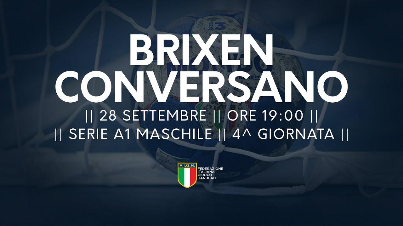 Serie A1M [4^]: Brixen - Conversano 28-26