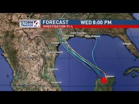 Bryan Hale's Tropical Weather Forecast for the RGV