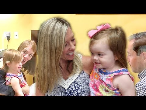 ONE YEAR OLD HEARS FOR THE FIRST TIME! Cochlear implant activation