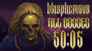 Blasphemous All Bosses Glitchless Speedrun 50:05 LRTA (World Record 1/12/2020)