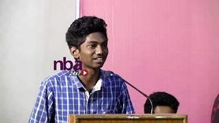 Vijay Sethupathi  மாதிரியே mimicry செய்து பாராட்டு வாங்கிய சிறுவன் | nba 24x7
