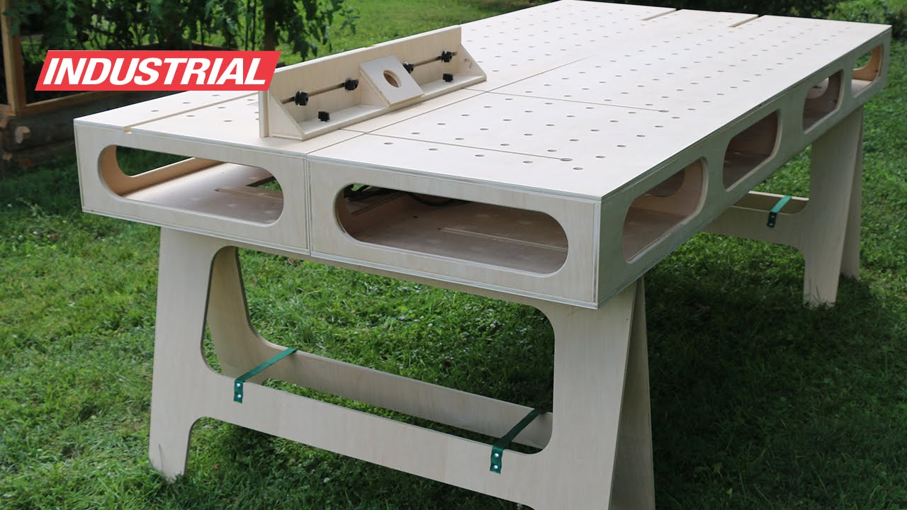How To Make Paulk Homes Plywood Work Bench Created W