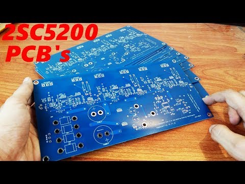 2SC5200 Subwoofer Amplifier BOARDS -- PCBWAY nailed it !
