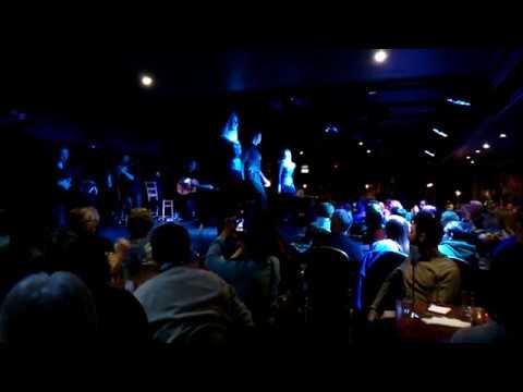 A Bit Of Irish Dancing At A Cabaret In Dublin