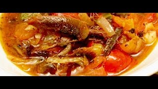 RED HERRING FISH stewed