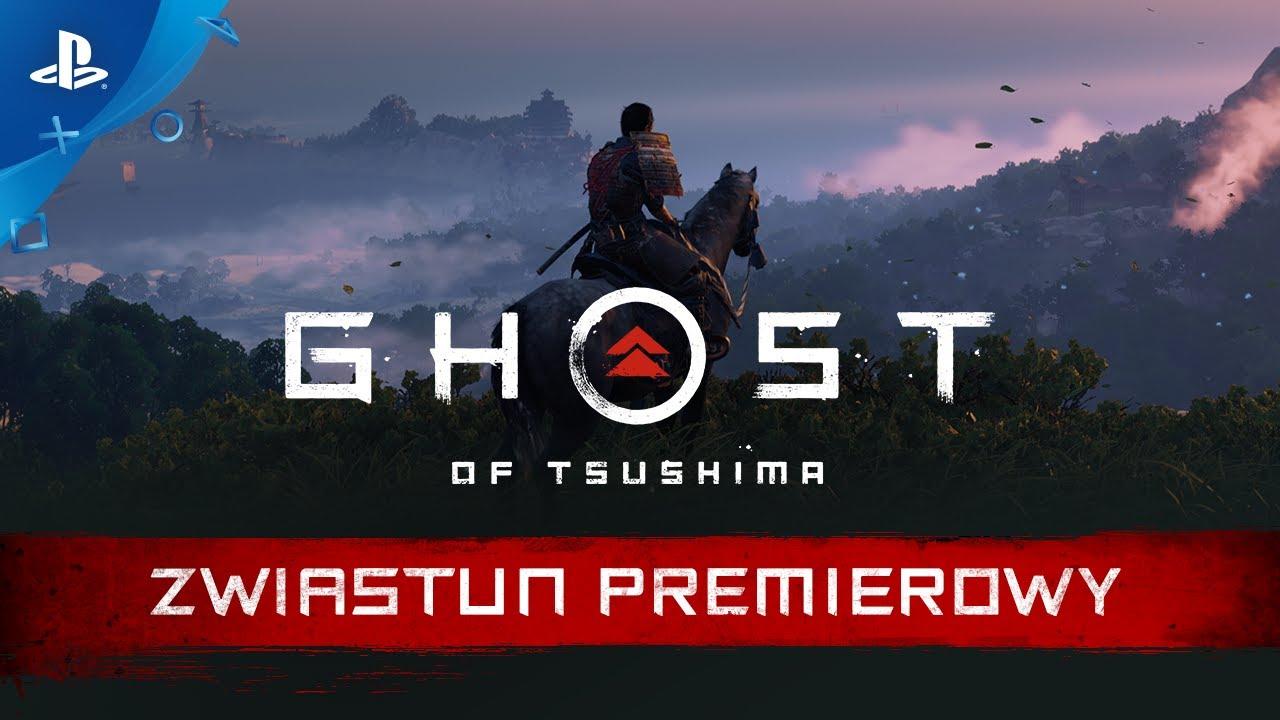 Ghost of Tsushima – zwiastun premierowy | PS4