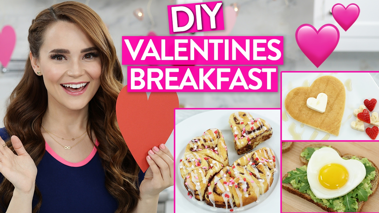 Diy Valentines Day Breakfast Ideas Youtube