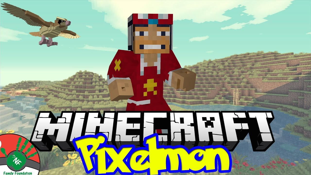 Minecraft: The Bacon Restaurant!!! - NF Family Pixelmon Server (Pokemon Mod)