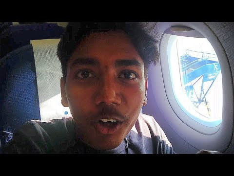 FIRST TIME IN AN AIRPLANE  |GOA TO MUMBAI BY INDIGO |FULL FLIGHT REPORT