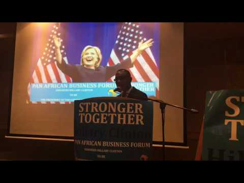 Pan African Business Forum endorses Hillary Clinton.