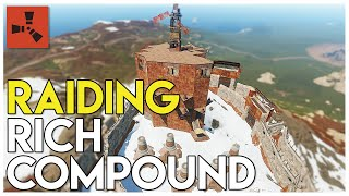 INFILTRATING AND RAIDING A  RICH COMPOUND - Rust